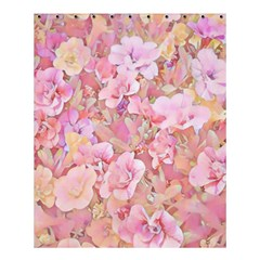 Lovely Floral 36a Shower Curtain 60  x 72  (Medium)