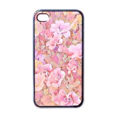 Lovely Floral 36a Apple iPhone 4 Case (Black)