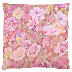 Lovely Floral 36a Large Cushion Case (Two Sides)