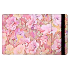 Lovely Floral 36a Apple iPad 3/4 Flip Case