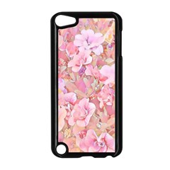 Lovely Floral 36a Apple iPod Touch 5 Case (Black)