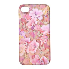 Lovely Floral 36a Apple iPhone 4/4S Hardshell Case with Stand