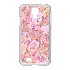 Lovely Floral 36a Samsung GALAXY S4 I9500/ I9505 Case (White)