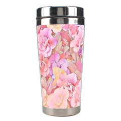Lovely Floral 36a Stainless Steel Travel Tumblers