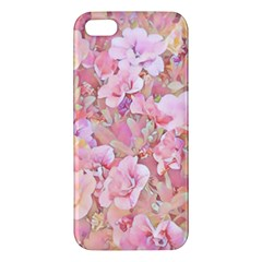 Lovely Floral 36a iPhone 5S/ SE Premium Hardshell Case