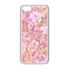 Lovely Floral 36a Apple iPhone 5C Seamless Case (White)