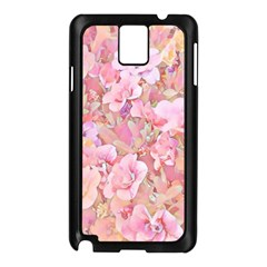 Lovely Floral 36a Samsung Galaxy Note 3 N9005 Case (Black)
