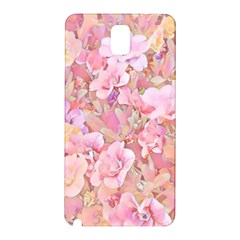 Lovely Floral 36a Samsung Galaxy Note 3 N9005 Hardshell Back Case