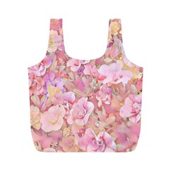 Lovely Floral 36a Full Print Recycle Bags (M)