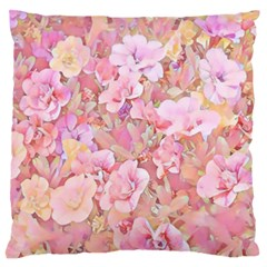 Lovely Floral 36a Standard Flano Cushion Case (One Side)