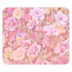 Lovely Floral 36a Double Sided Flano Blanket (Small)