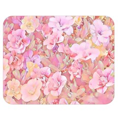 Lovely Floral 36a Double Sided Flano Blanket (Medium)
