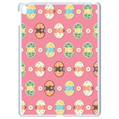 Cute Eggs Pattern Apple Ipad Pro 9 7   White Seamless Case
