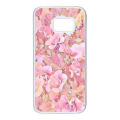 Lovely Floral 36a Samsung Galaxy S7 White Seamless Case