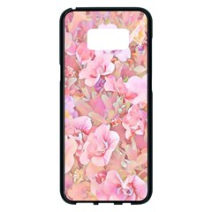 Lovely Floral 36a Samsung Galaxy S8 Plus Black Seamless Case