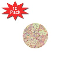 Lovely Floral 36b 1  Mini Buttons (10 pack)
