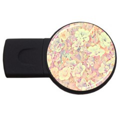 Lovely Floral 36b USB Flash Drive Round (1 GB)
