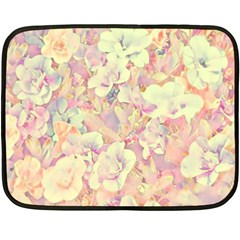 Lovely Floral 36b Double Sided Fleece Blanket (Mini)