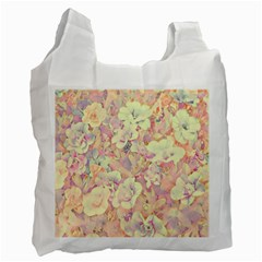 Lovely Floral 36b Recycle Bag (Two Side)