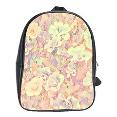 Lovely Floral 36b School Bags(Large)