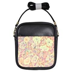 Lovely Floral 36b Girls Sling Bags