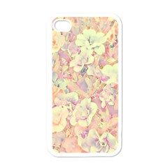 Lovely Floral 36b Apple iPhone 4 Case (White)