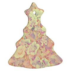 Lovely Floral 36b Christmas Tree Ornament (Two Sides)