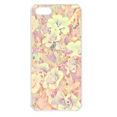 Lovely Floral 36b Apple iPhone 5 Seamless Case (White)