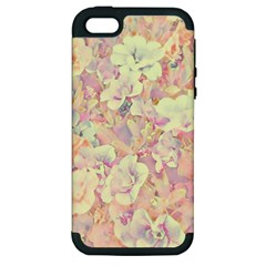 Lovely Floral 36b Apple iPhone 5 Hardshell Case (PC+Silicone)