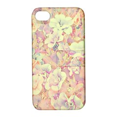 Lovely Floral 36b Apple iPhone 4/4S Hardshell Case with Stand