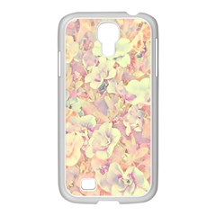 Lovely Floral 36b Samsung GALAXY S4 I9500/ I9505 Case (White)