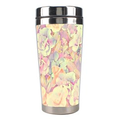 Lovely Floral 36b Stainless Steel Travel Tumblers
