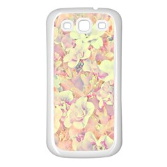 Lovely Floral 36b Samsung Galaxy S3 Back Case (White)