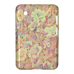Lovely Floral 36b Samsung Galaxy Tab 2 (7 ) P3100 Hardshell Case