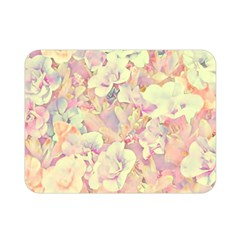 Lovely Floral 36b Double Sided Flano Blanket (Mini)