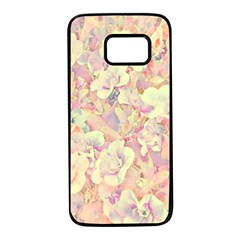 Lovely Floral 36b Samsung Galaxy S7 Black Seamless Case