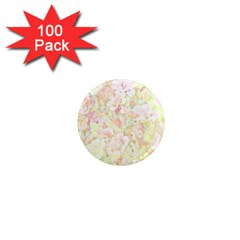 Lovely Floral 36c 1  Mini Magnets (100 pack)