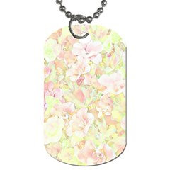 Lovely Floral 36c Dog Tag (One Side)