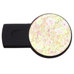 Lovely Floral 36c USB Flash Drive Round (1 GB)