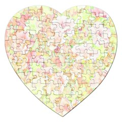 Lovely Floral 36c Jigsaw Puzzle (Heart)