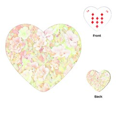 Lovely Floral 36c Playing Cards (Heart)
