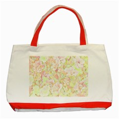 Lovely Floral 36c Classic Tote Bag (Red)