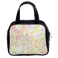 Lovely Floral 36c Classic Handbags (2 Sides)