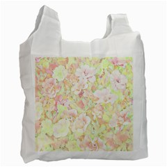 Lovely Floral 36c Recycle Bag (One Side)