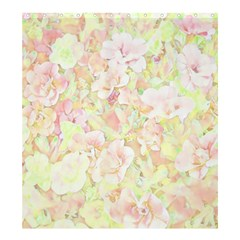 Lovely Floral 36c Shower Curtain 66  X 72  (large)