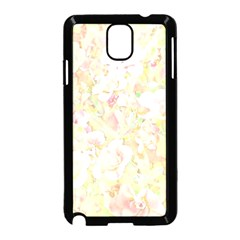 Lovely Floral 36c Samsung Galaxy Note 3 Neo Hardshell Case (Black)