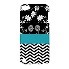Flowers Turquoise Pattern Floral Apple iPod Touch 5 Hardshell Case