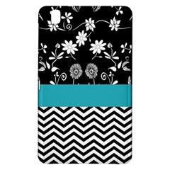 Flowers Turquoise Pattern Floral Samsung Galaxy Tab Pro 8.4 Hardshell Case