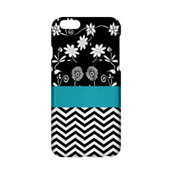 Flowers Turquoise Pattern Floral Apple iPhone 6/6S Hardshell Case