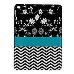 Flowers Turquoise Pattern Floral Ipad Air 2 Hardshell Cases